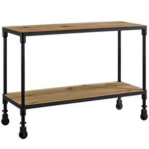 Raise Wood Tv Stand Brown Entertainment