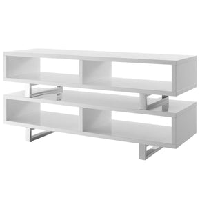 "Entertainment Stands - Modway EEI-2678-WHI Amble 47"" Contemporary Modern TV Stand White 