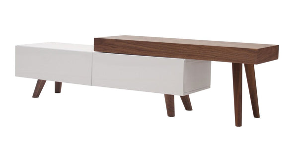 Moes Home Collection Rico Tv Table Walnut AD-1052-18 | 849043022637| $945.00. Entertainment Stands - . Buy today at http://www.contemporaryfurniturewarehouse.com