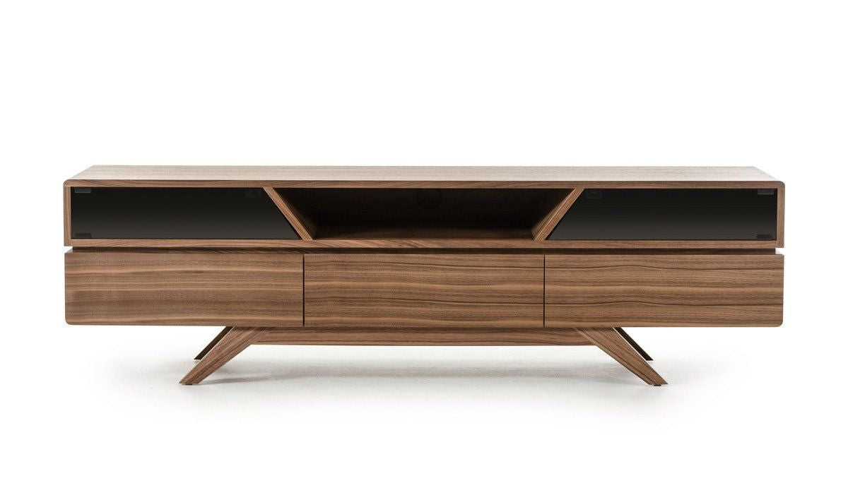 . Vig Furniture VGBBVIG141101F Modrest Soria Modern Walnut TV Stand sale at  Contemporary Furniture Warehouse  Today only