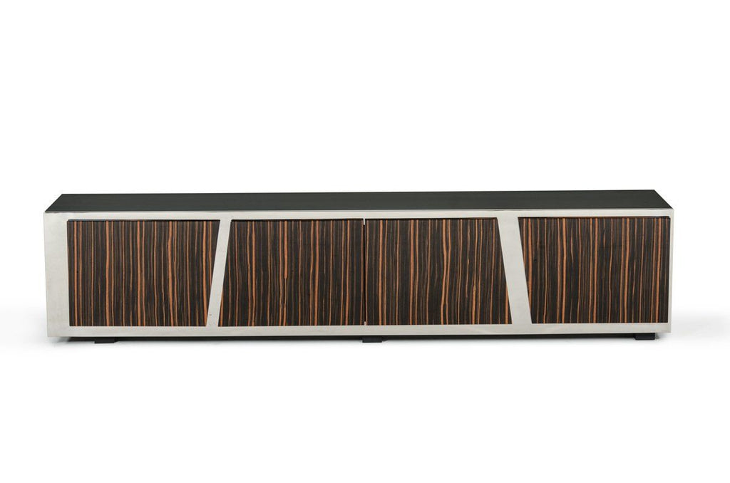 Vig Furniture Modrest Sherman Modern Ebony Tv Stand At Contemporary