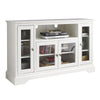 "Entertainment Stands - Walker Edison W52C32WH 52"" Highboy Style Wood TV Stand - White 