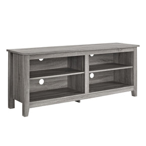 58 Driftwood Tv Stand Console Entertainment