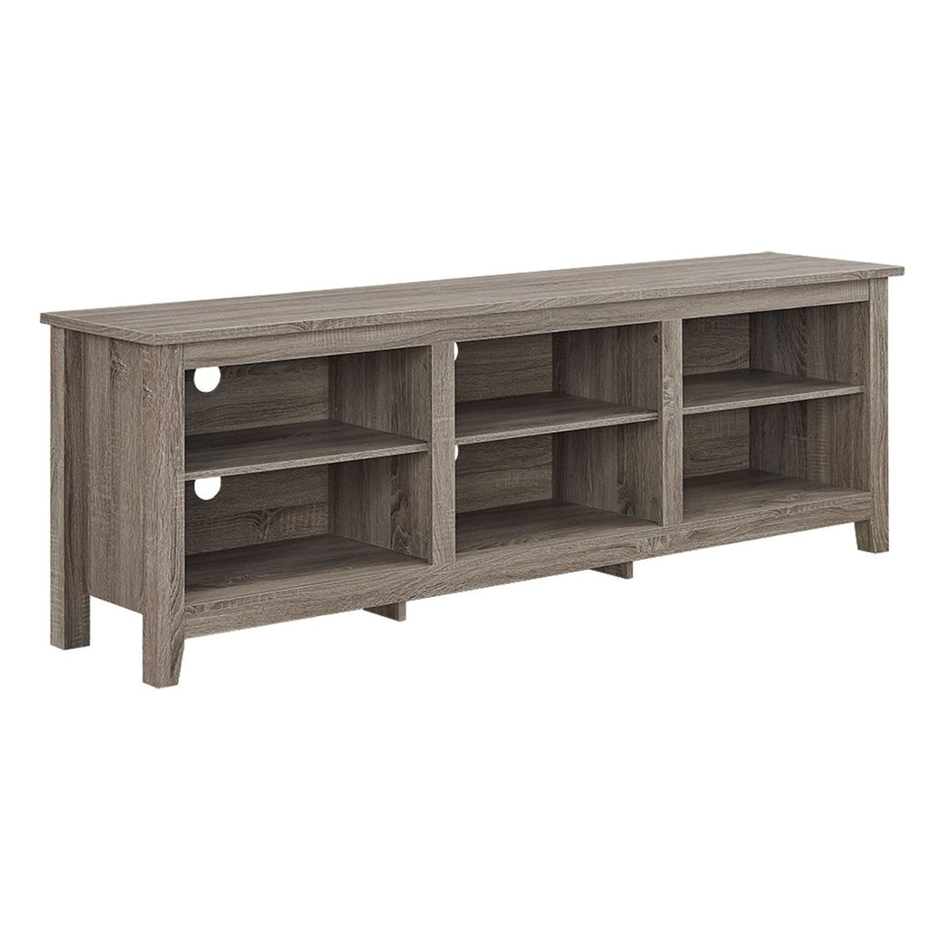 70 Essentials Tv Stand - Driftwood Entertainment