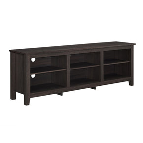 70 Essentials Tv Stand - Espresso Entertainment