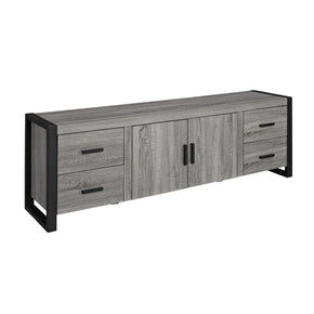 70 Urban Blend Tv Stand Console- Driftwood Entertainment