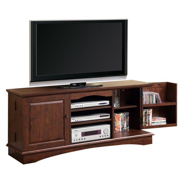 60 Brown Wood Tv Stand Console Entertainment