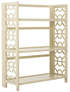 Natalie 3 Tier Low Bookcase Barley Etagere