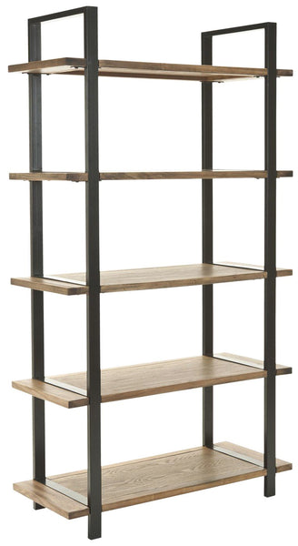 Etageres - Safavieh AMH6590A Scott 5 Tier Etagere Oak | 683726403487 | Only $329.80. Buy today at http://www.contemporaryfurniturewarehouse.com