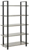 Scott 5 Tier Etagere French Grey