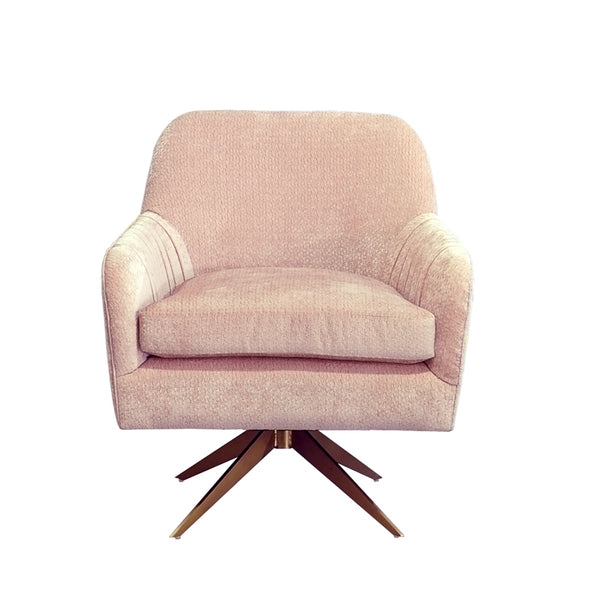 Fabulous Vig Furniture Vghkf3054 50 Pnk Divani Casa Abigail Modern Pink Velvet Swivel Accent Chair Sale At Contemporary Furniture Warehouse Today Only Dailytribune Chair Design For Home Dailytribuneorg