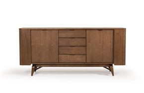 Vig Furniture VGCSSB-16028 Modrest Fallon Modern Walnut Buffet