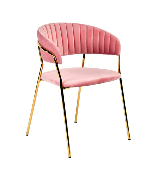 Pleasing Vig Furniture Vgfh Fdc7029 Pnk Modrest Brandy Modern Pink Fabric Dining Chair Set Of 2 Sale At Contemporary Furniture Warehouse Today Only Uwap Interior Chair Design Uwaporg