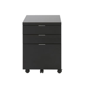 Gilbert 3 Drawer File Cabinet In Black