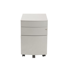 Floyd 3 Drawer File Cabinet In Silver