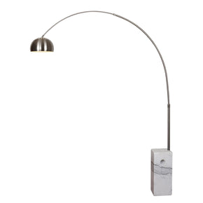 EdgeMod SoHo Modern Arc Floor Lamp in White LS-F166-WHI | 641061723837| $268.80. Floor Lamps - . Buy today at http://www.contemporaryfurniturewarehouse.com