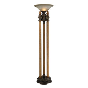 Athena Torchiere In Bronze Floor Lamp