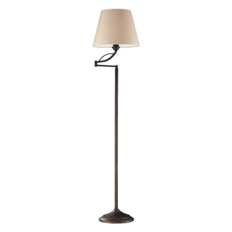 Floor Lamps - Elk Group ELK-17027/1 Elysburg 1 Light Floor Lamp In Aged Bronze Aged Bronze | 748119034737 | Only $248.00. Buy today at http://www.contemporaryfurniturewarehouse.com