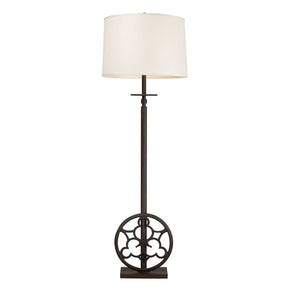 Ironton 3 Light Floor Lamp In Vintage Rust