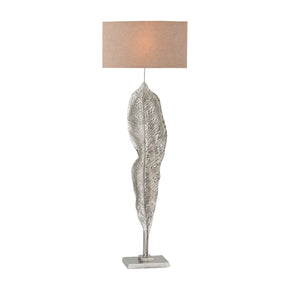 Katerini Floor Lamp Nickel