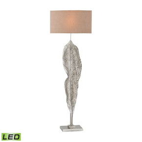 Katerini Led Floor Lamp Nickel