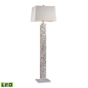 Floor Lamps - Elk Group ELK-D2896-LED Mother Of Pearl LED Floor Lamp Mother Of Pearl Shell | 748119093857 | Only $588.00. Buy today at http://www.contemporaryfurniturewarehouse.com