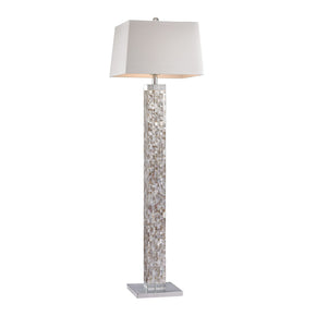 Mother Of Pearl Floor Lamp Shell