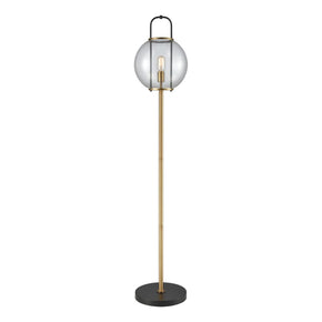 Floor Lamps - Elk Group ELK-D3230 Faraday Floor Lamp Aged Brass,Black | 748119107059 | Only $310.00. Buy today at http://www.contemporaryfurniturewarehouse.com