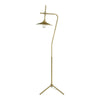 Goddard Floor Lamp Aged Brass