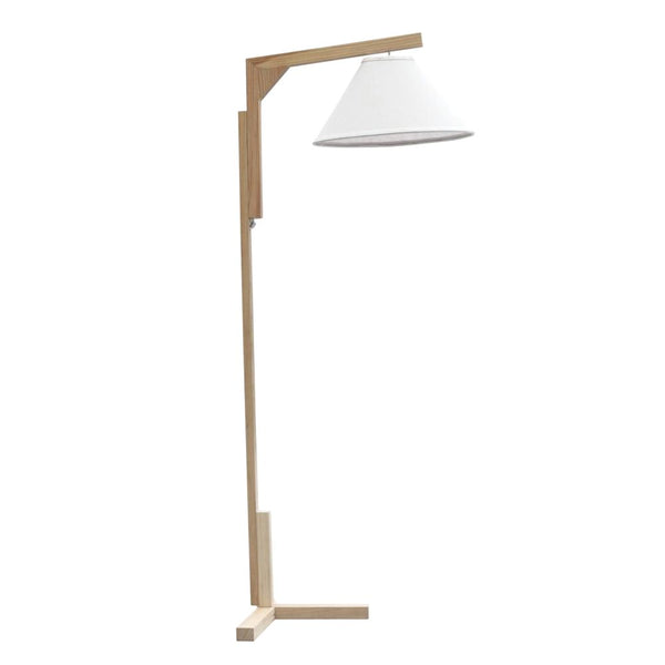 Spiral Floor Lamp Natural