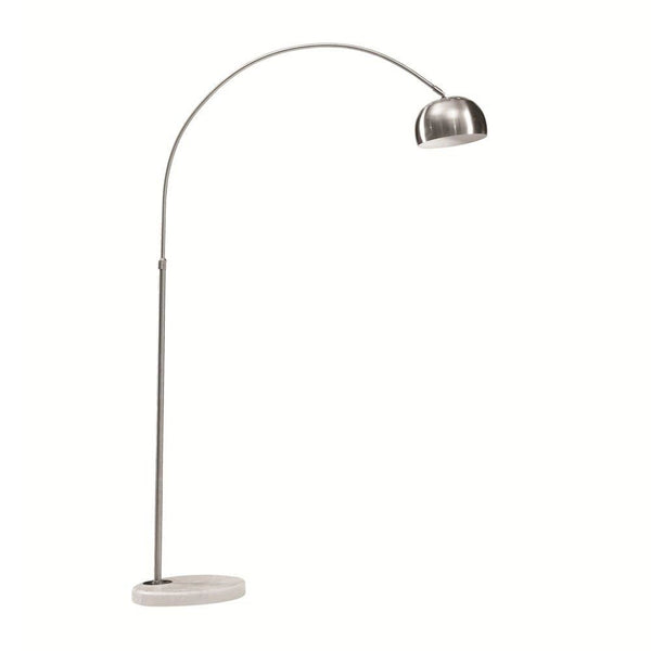 Arch Lamp Small Base White Floor