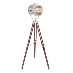 Ahoy Floor Lamp Chrome Cherry