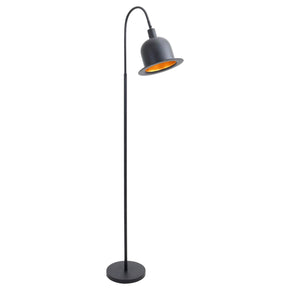 Charlie Floor Lamp Black Gold