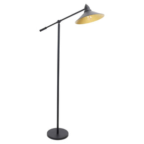 Paddy Floor Lamp Black Gold
