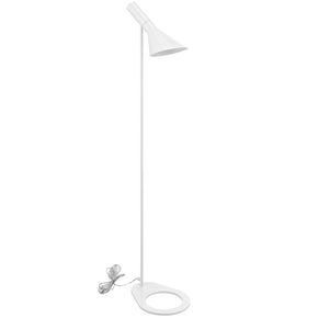 Flashlight Floor Lamp White