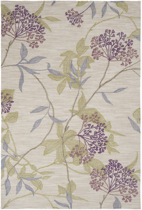 Ameila Floral And Paisley Area Rug Purple