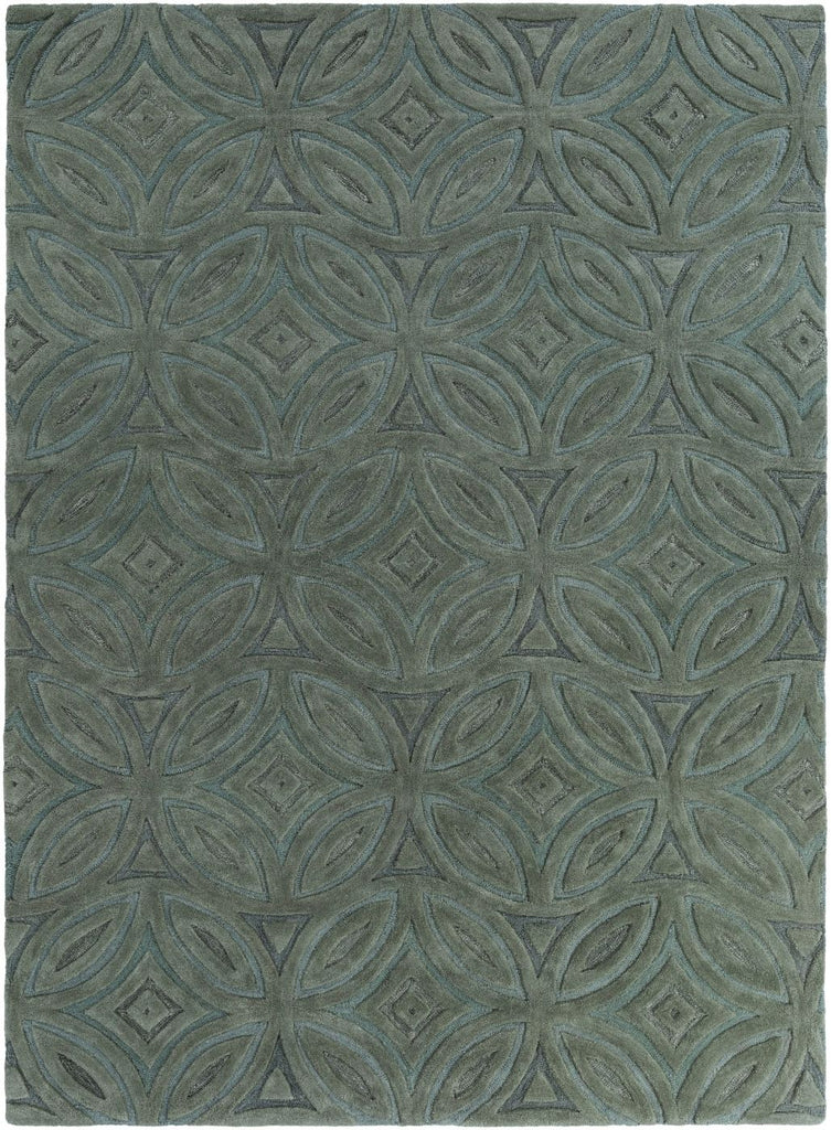 Greens, Rugs - Surya PSV33-3353 Perspective Geometric Area Rug Green | 764262806083 | Only $333.60. Buy today at http://www.contemporaryfurniturewarehouse.com