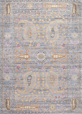 Nuloom Vintage Killian Grey Rug