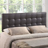 Headboards - Modway MOD-5130-BRN Lily Queen Upholstered Faux Leather Headboard | 848387019211 | Only $115.55. Buy today at http://www.contemporaryfurniturewarehouse.com