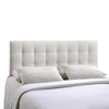 Headboards - Modway MOD-5130-WHI Lily Queen Upholstered Faux Leather Headboard | 848387019228 | Only $115.55. Buy today at http://www.contemporaryfurniturewarehouse.com