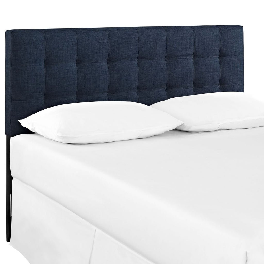 Headboards - Modway MOD-5144-NAV Lily King Upholstered Fabric Headboard | 889654012504 | Only $135.75. Buy today at http://www.contemporaryfurniturewarehouse.com