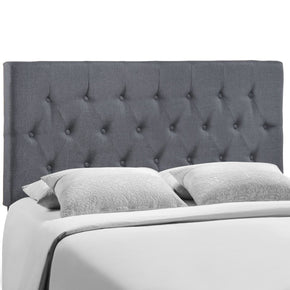 Headboards - Modway MOD-5202-SMK Clique Queen Headboard | 848387034726 | Only $130.50. Buy today at http://www.contemporaryfurniturewarehouse.com