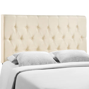 Headboards - Modway MOD-5204-IVO Clique Full Headboard | 848387034764 | Only $99.80. Buy today at http://www.contemporaryfurniturewarehouse.com