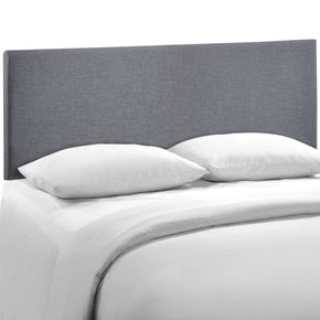 Region Queen Upholstered Headboard Smoke