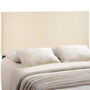 Region Full Upholstered Headboard Ivory
