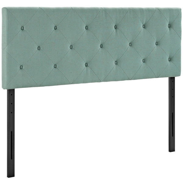 Headboards - Modway MOD-5372-LAG Terisa King Upholstered Fabric Headboard | 889654042310 | Only $127.75. Buy today at http://www.contemporaryfurniturewarehouse.com