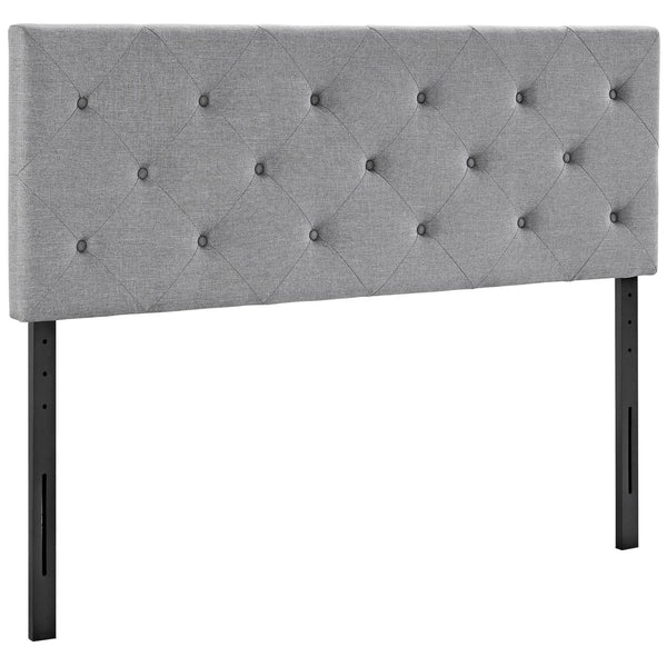 Headboards - Modway MOD-5372-LGR Terisa King Upholstered Fabric Headboard | 889654042327 | Only $127.75. Buy today at http://www.contemporaryfurniturewarehouse.com