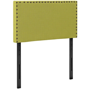 Headboards - Modway MOD-5382-WHE Phoebe Twin Upholstered Fabric Headboard | 889654042723 | Only $54.95. Buy today at http://www.contemporaryfurniturewarehouse.com