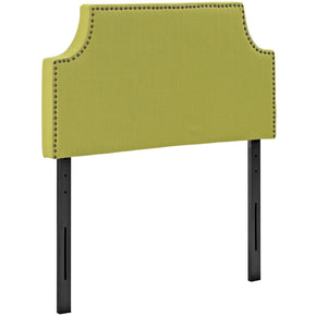 Headboards - Modway MOD-5390-WHE Laura Twin Upholstered Fabric Headboard | 889654043027 | Only $74.50. Buy today at http://www.contemporaryfurniturewarehouse.com