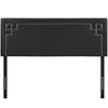 Josie Queen Upholstered Faux Leather Headboard